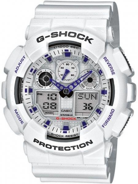 Casio G-Shock GA-100A-7A + možnost gravírování