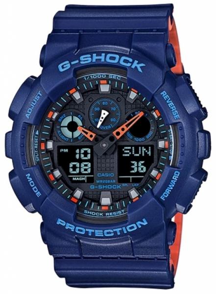 Casio G-Shock GA-100L-2A + možnost gravírování