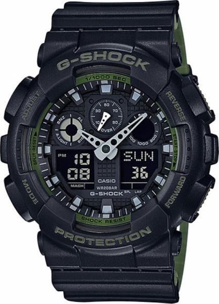 Casio G-Shock GA-100L-1A + možnost gravírování