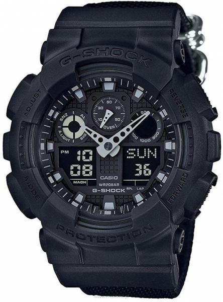 Casio G-Shock GA-100BBN-1AER + možnost gravírování