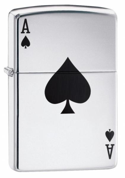 Zippo Lucky Ace 24011 + možnost gravírování od 350 Kč