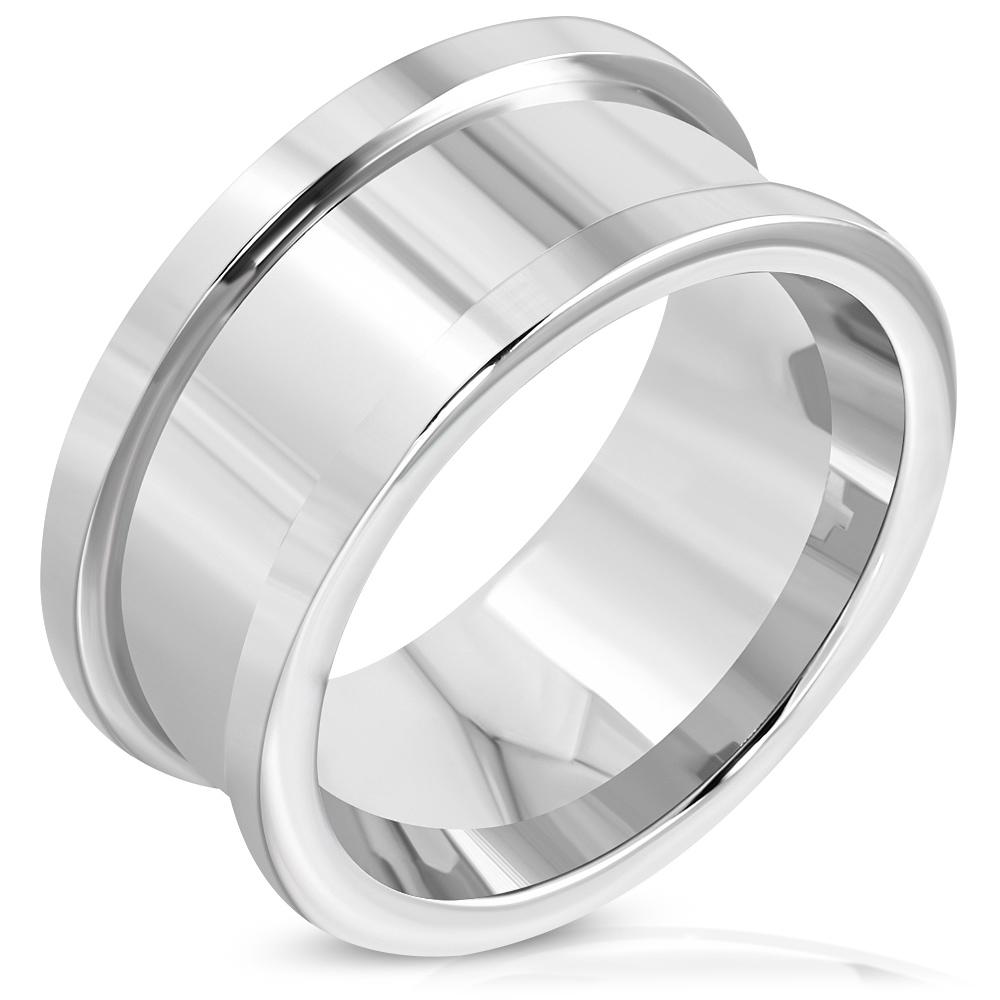 Psten s kroužkem chirurgická ocel RRR359 + možnost rytí Velikost prstenu: 8