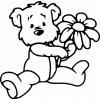 Samolepka - Plyšový medvídek