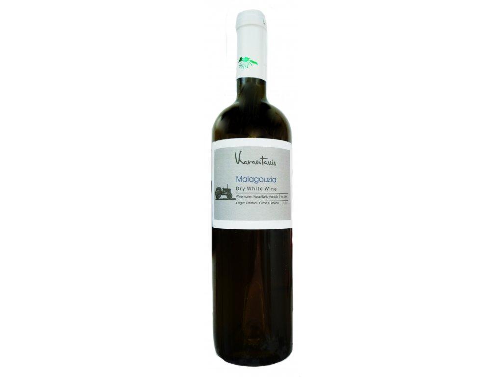 suché bílé víno malagousia