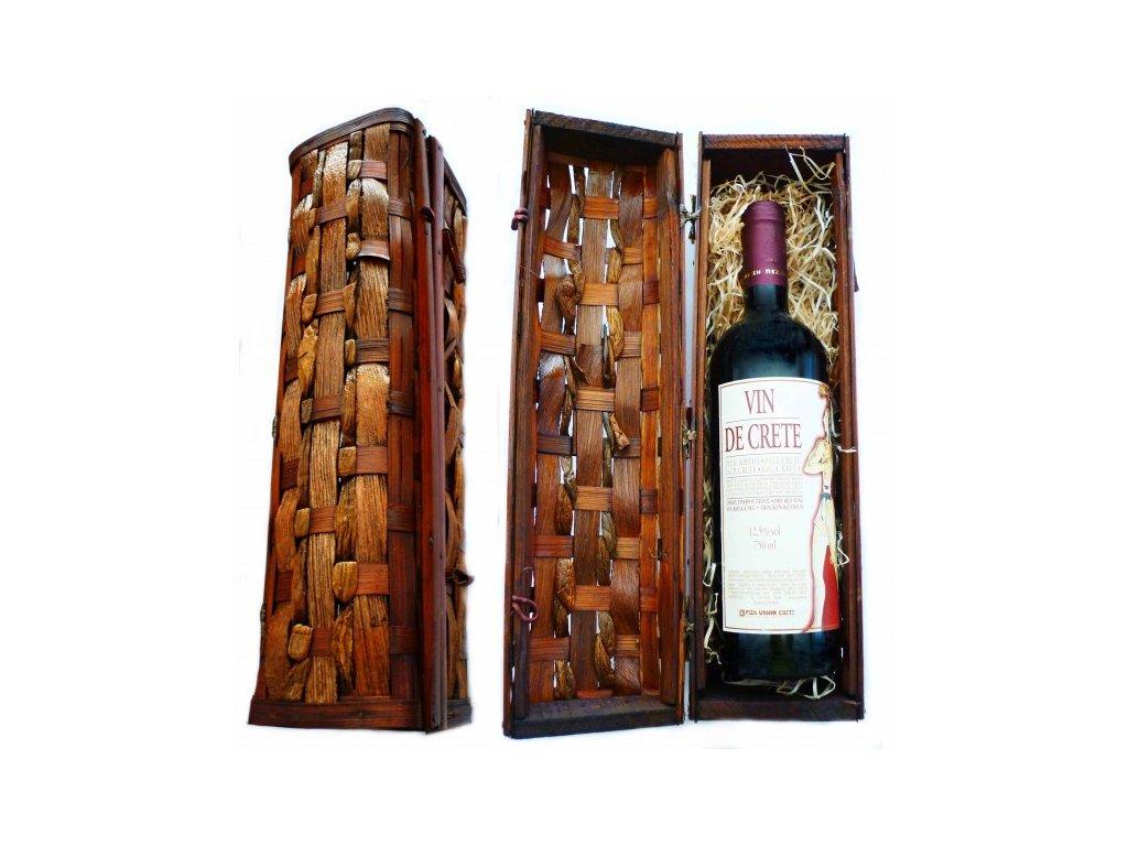 darkova krabicka na vino bez vina