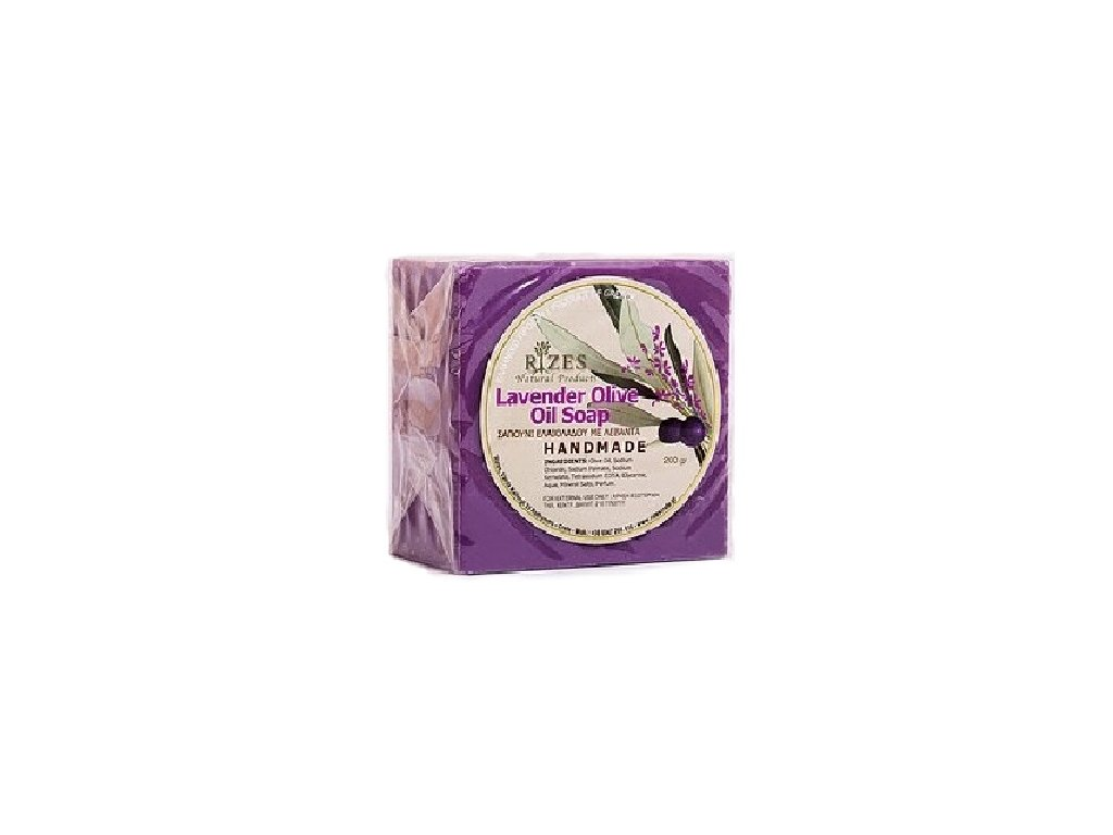 levandulove olivove mydlo rucni vyroby 200g