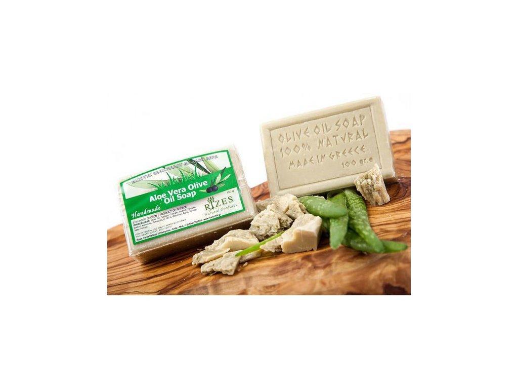 mýdlo olivové s aloe vera 100g