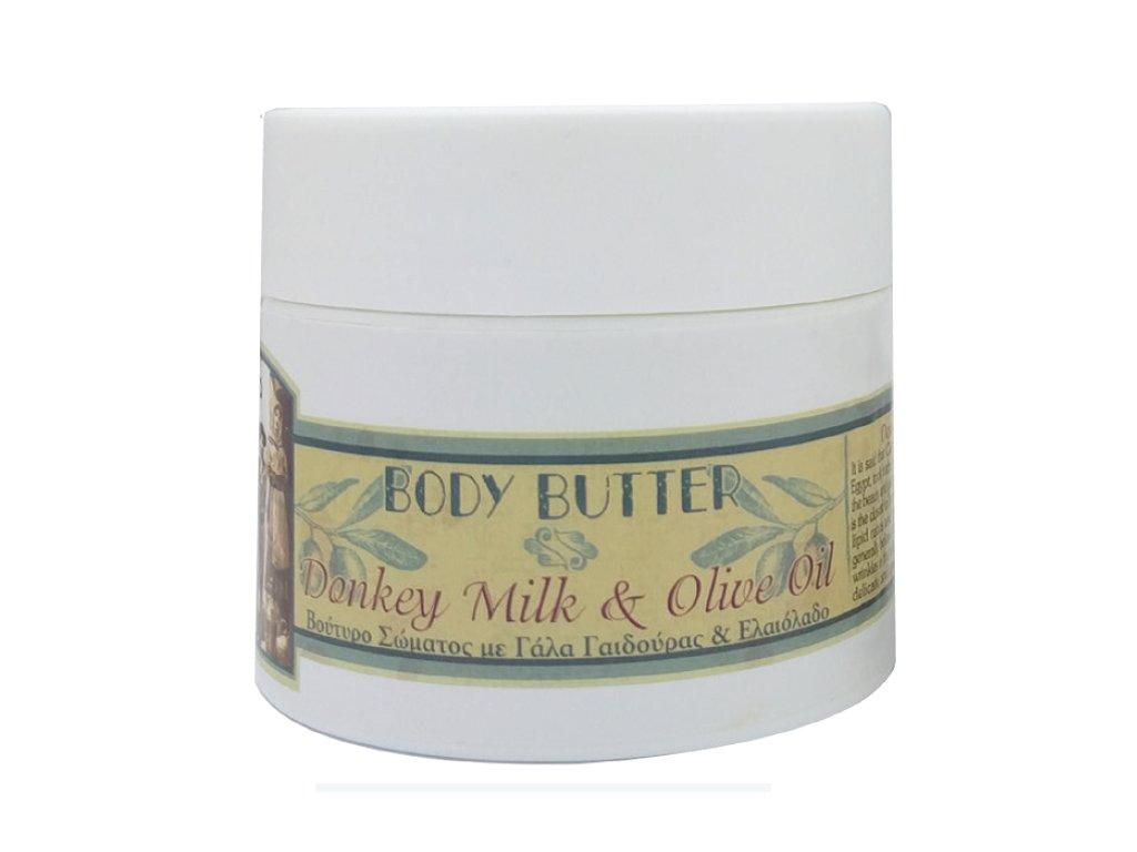 tělové máslo oslí mléko 200ml