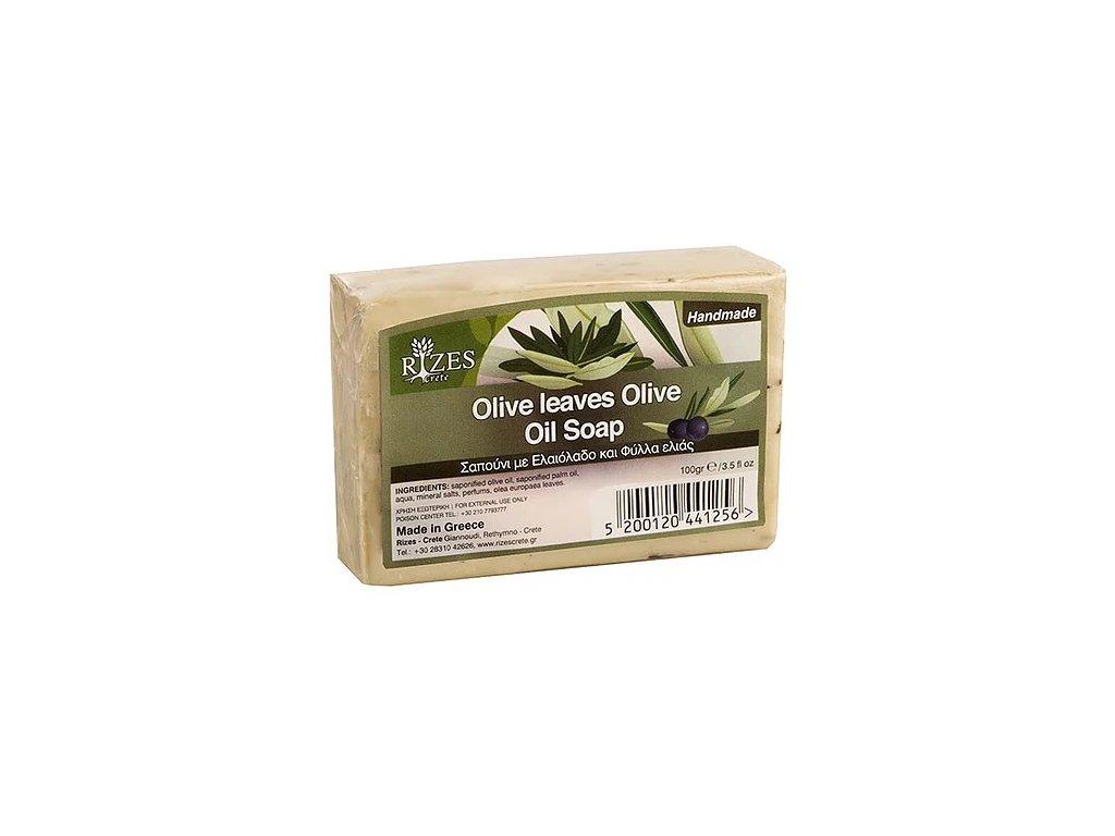 mýdlo olivové listy 100g