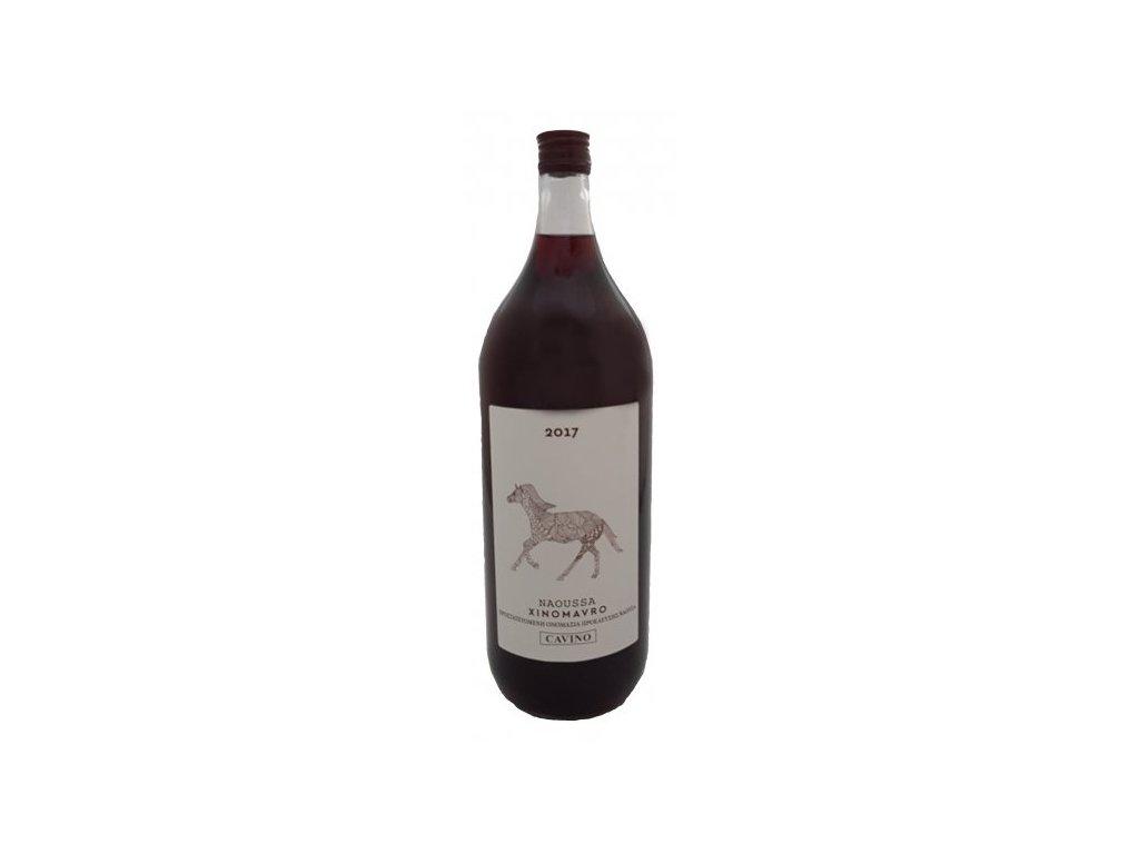 Naousa Xinomavro červené barikované suché víno