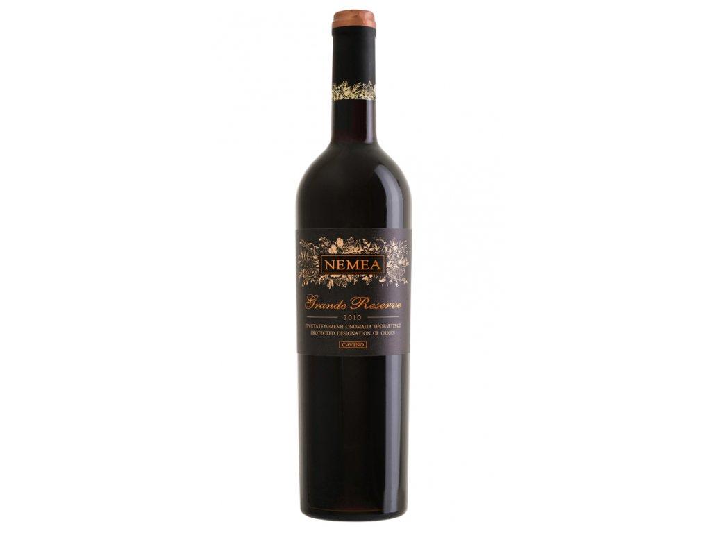 červené suché barikované víno grande reserve 2012 750ml