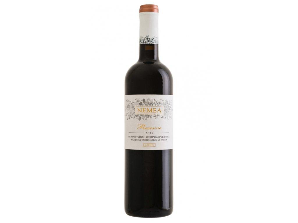 červené suché barikované víno Reserve 750ml