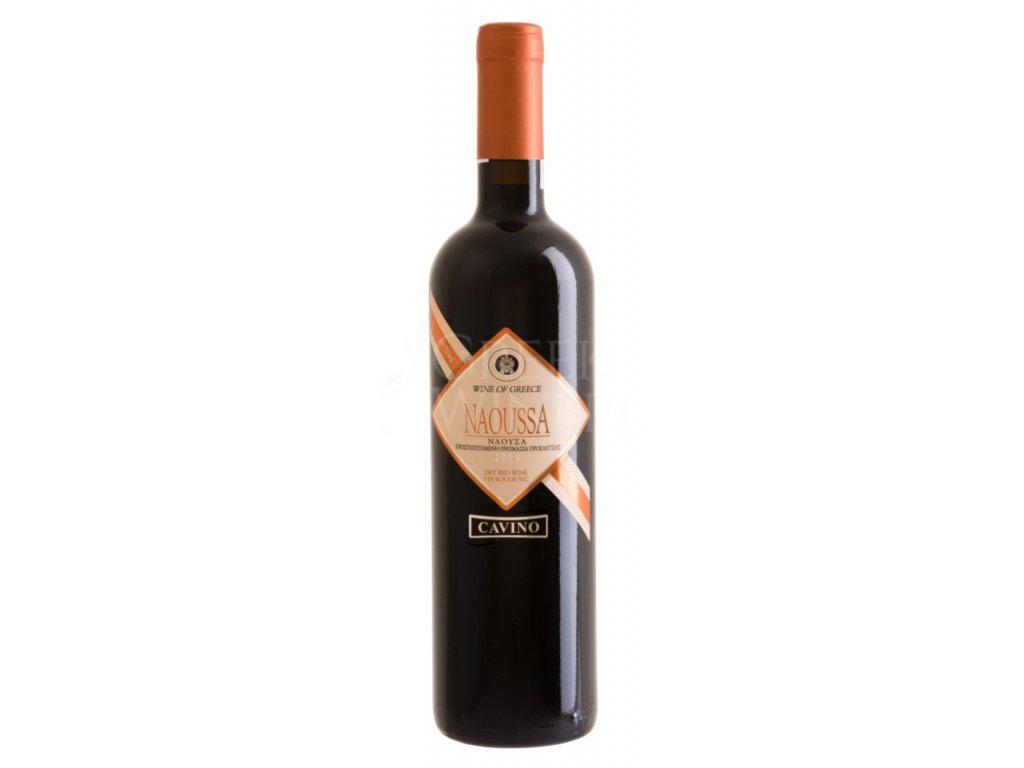 Červené suché víno Naoussa 750 ml