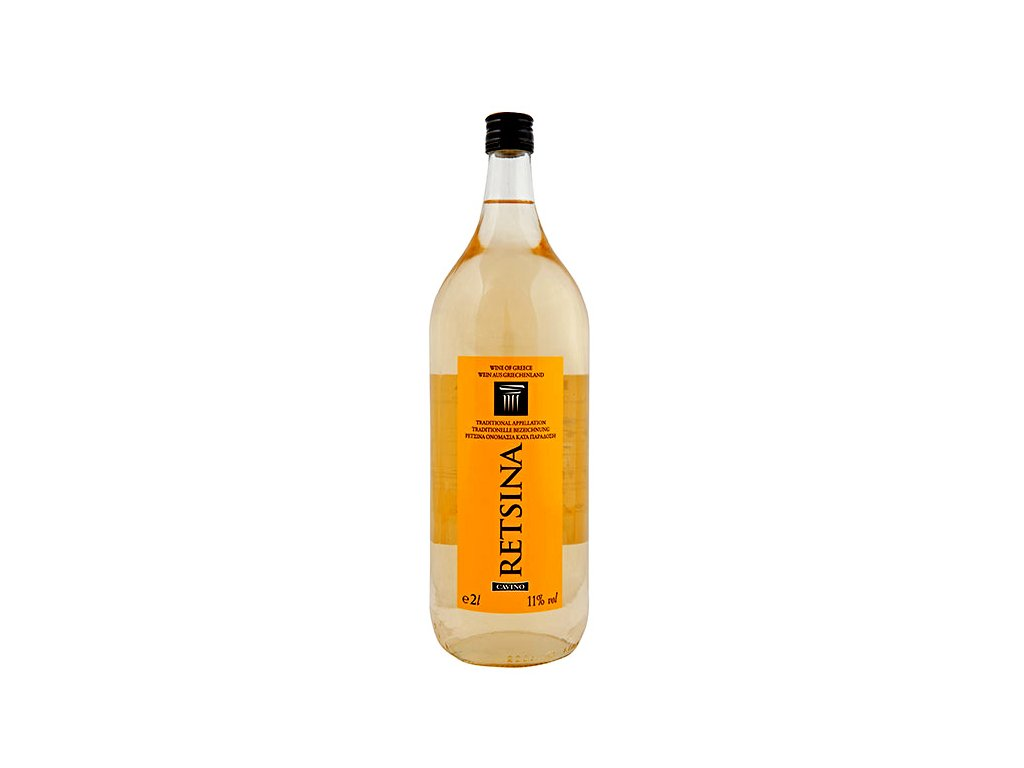 Retsina Bílé suché víno 2L