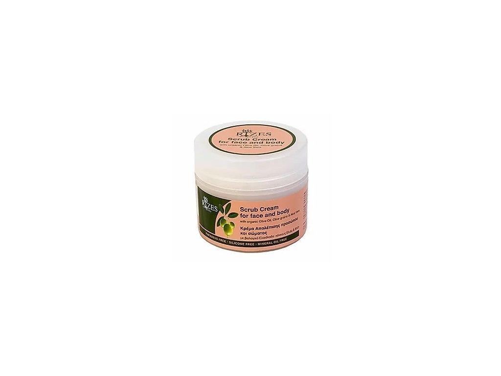 Scrub cream for face body