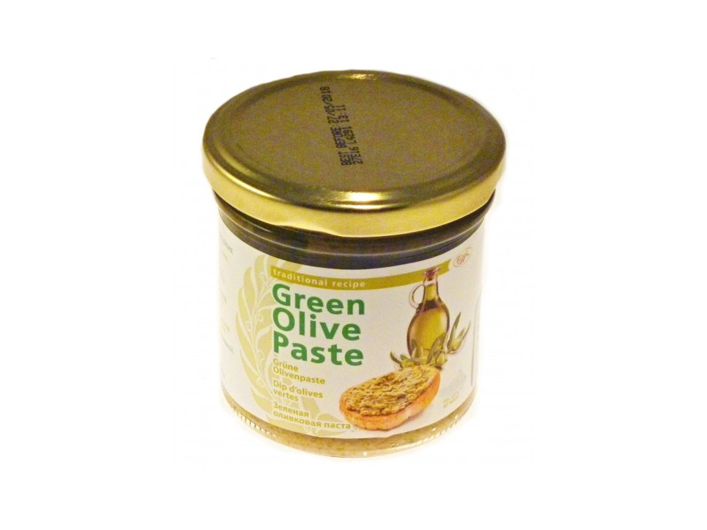 zelena olivova pasta 135g