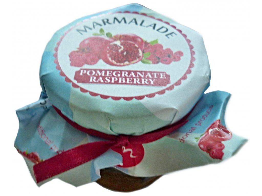 marmeláda maliny a granátové jablko 250g
