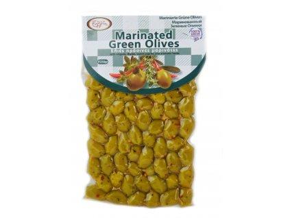 olivy zelené marinované 250g