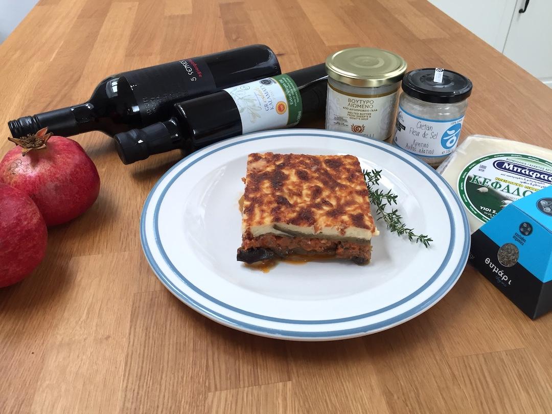 Domácí mousaka - tradiční řecké jídlo