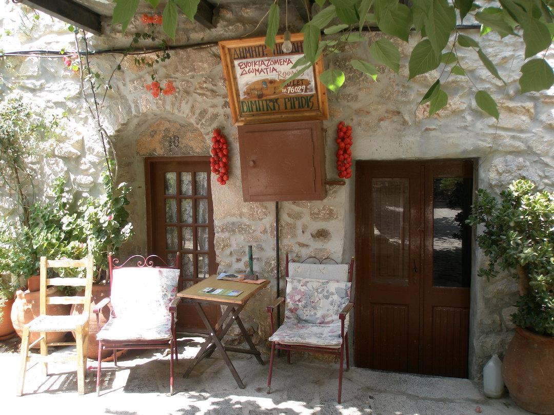 Chios - ostrov mastichy a mandarinek