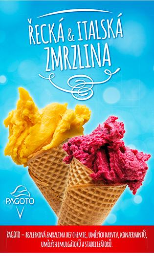 Pagoto - pořádná zmrzlina v GreekMarketu