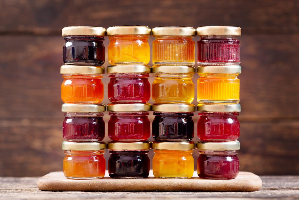 Marmelády a zavařeniny