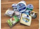 Sýry, jogurty a máslo