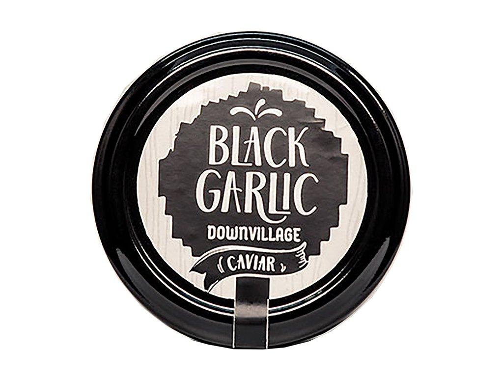 Black garlic downvillage caviar z cerneho cesneku GreekMarket
