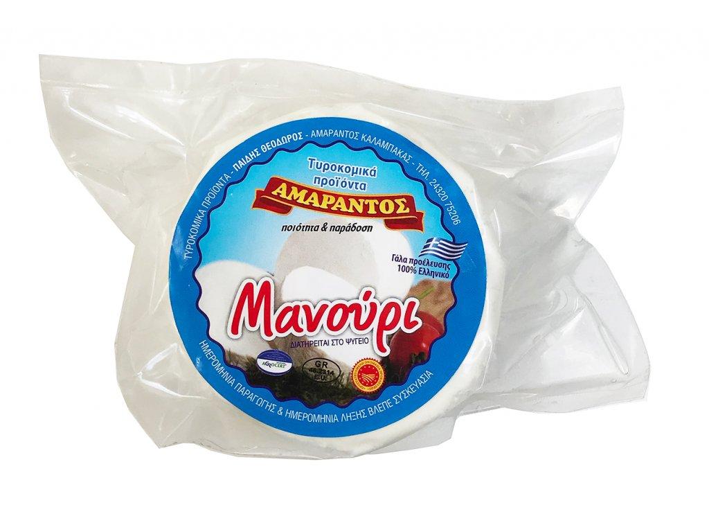 Manouri Amarantos z Meteor z ovciho a koziho mleka GreekMarket