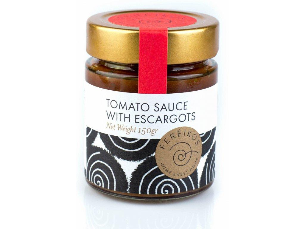Fereikos sneci s rajcatovou omackou GreekMarket