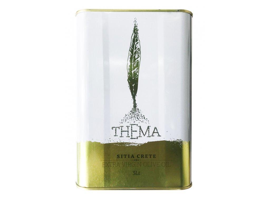 Thema extra panensky olivovy olej z Krety 3l GreekMarket