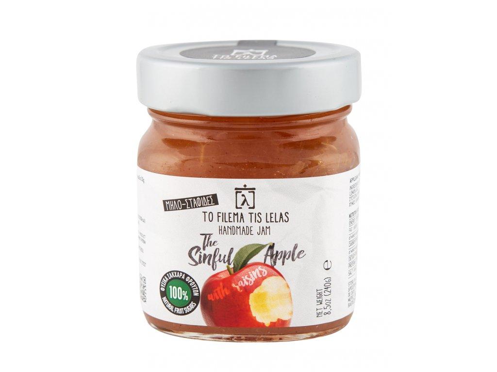 Domaci marmelada z jablek s rozinkami bez cukru GreekMarket
