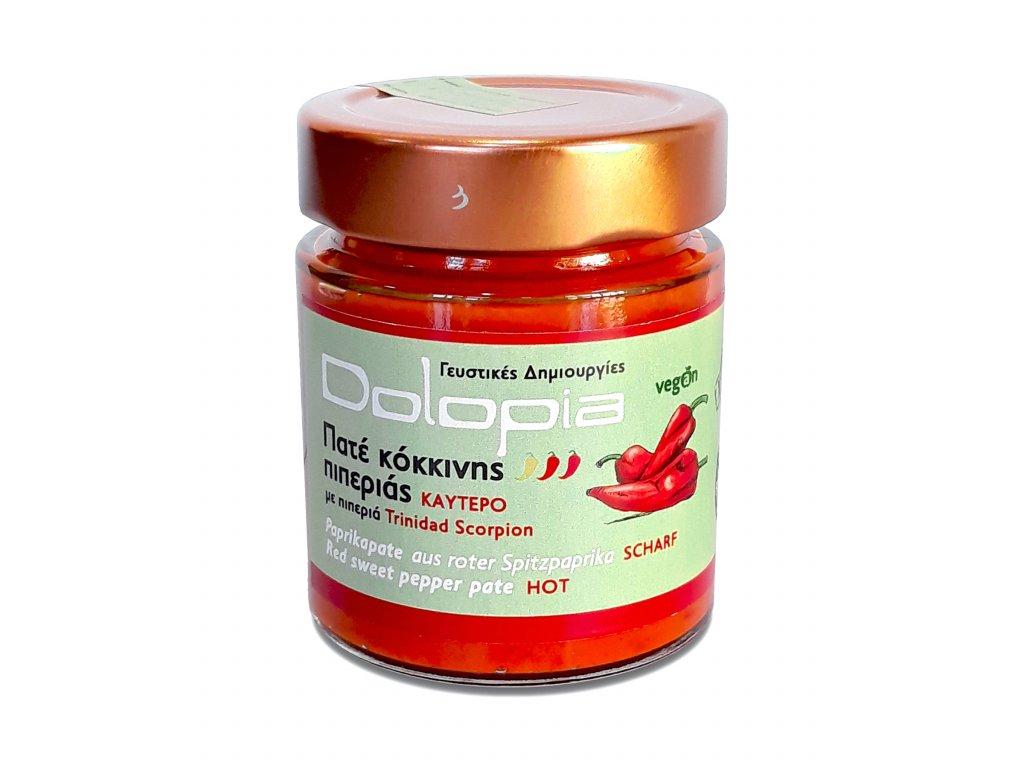 Dolopia extra paliva pomazanka s chilli Trinidad Scorpion GreekMarket