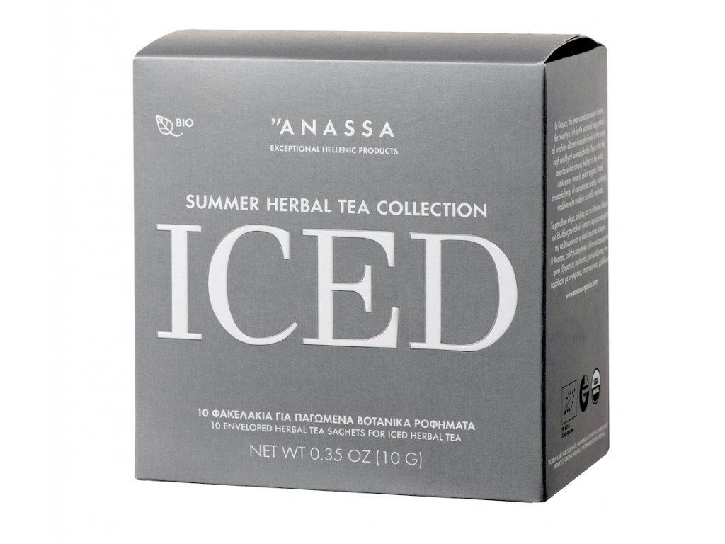 Anassa BIO ledovy čaj v saccich s klacikem GreekMarket