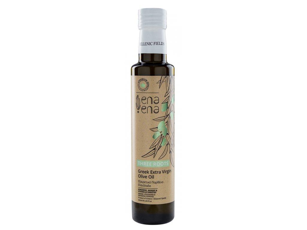 Ena Ena Three Roots extra panensky olivovy olej 250ml GreekMarket