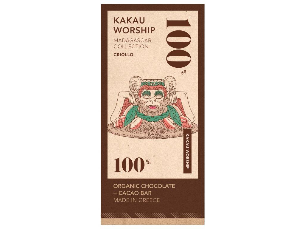 Kakau BIO horka cokolada Criollo kolekce Madagascar GreekMarket