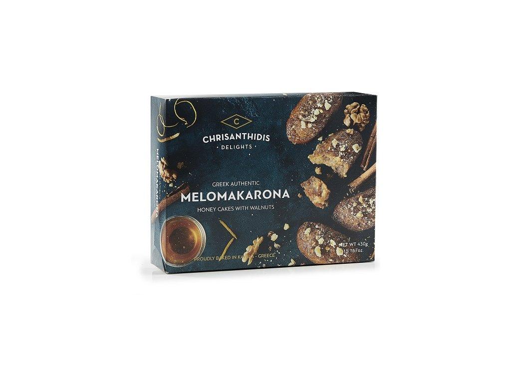 Melomakarona dezert z medu a vlasskych orechu GreekMarket