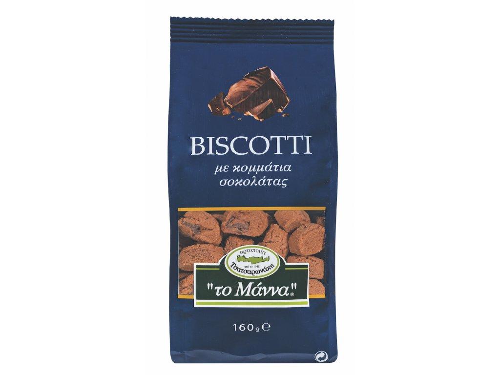 To Manna maslove susenky s kousky cokolady GreekMarket