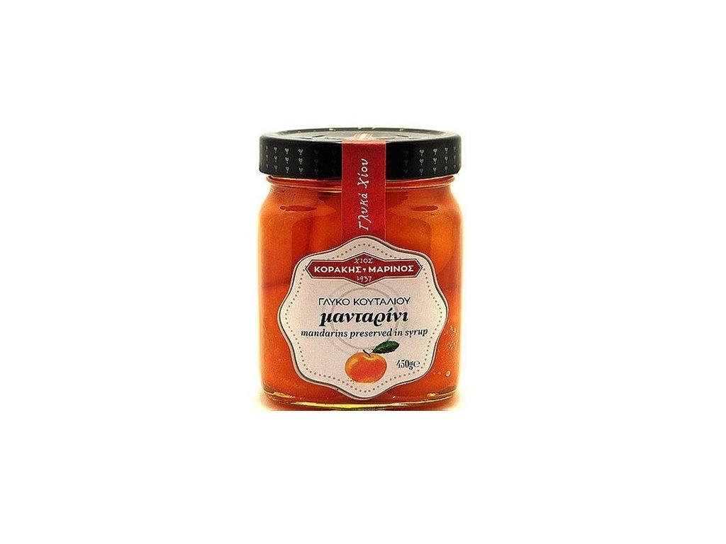 Korakis Marinos mandarinky v sirupu GreekMarket