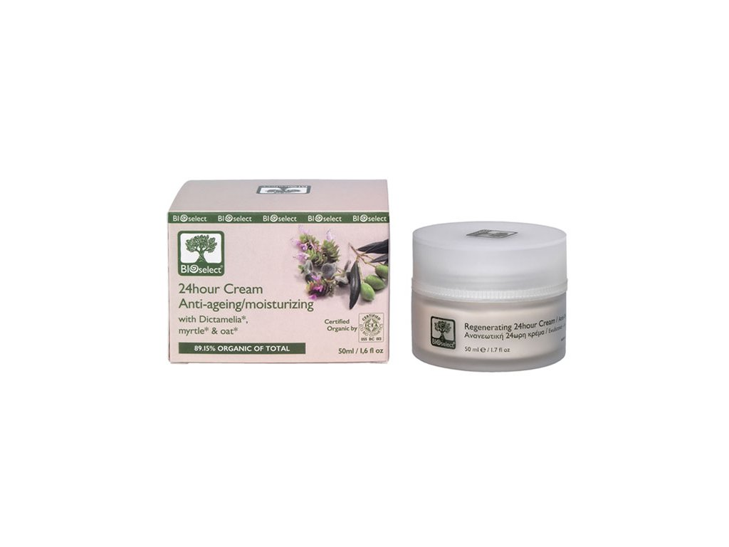 BIOselect 24 hodinovy anti ageing krem GreekMarket