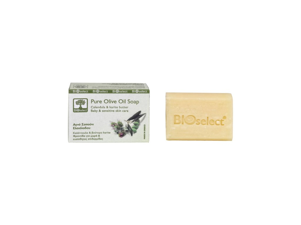 BIOselect prirodni olivove mydlo pro deti GreekMarket