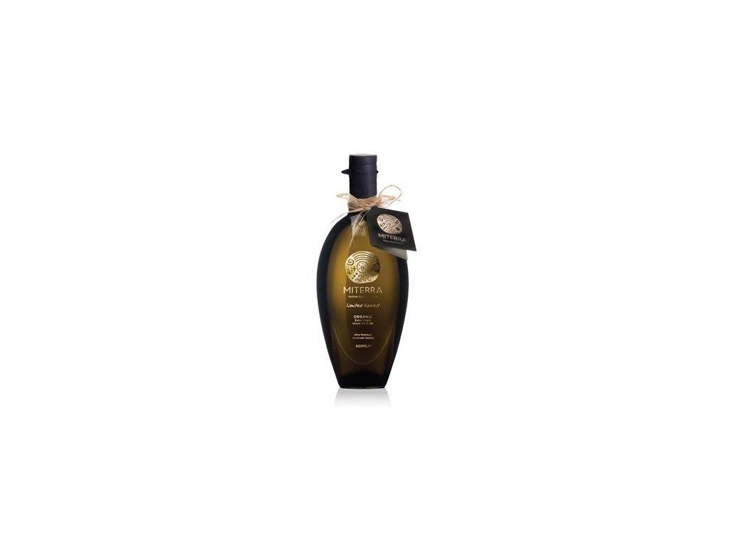 Extra panenský olivový olej BIO LIMITED HARVEST 500ml Miterra