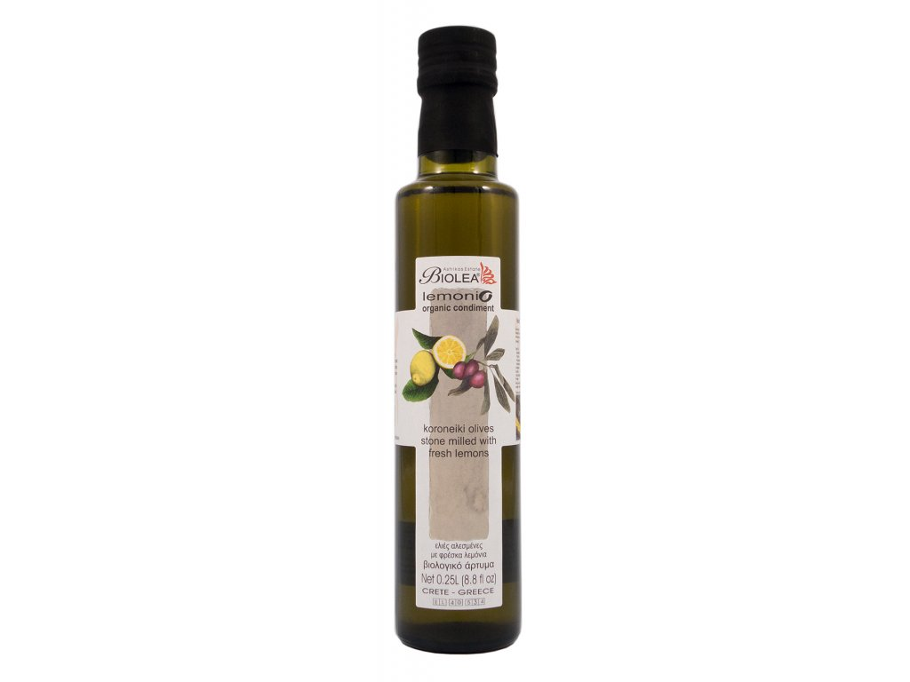 Extra panenský olivový olej BIO LEMONIO 250ml BIOLEA
