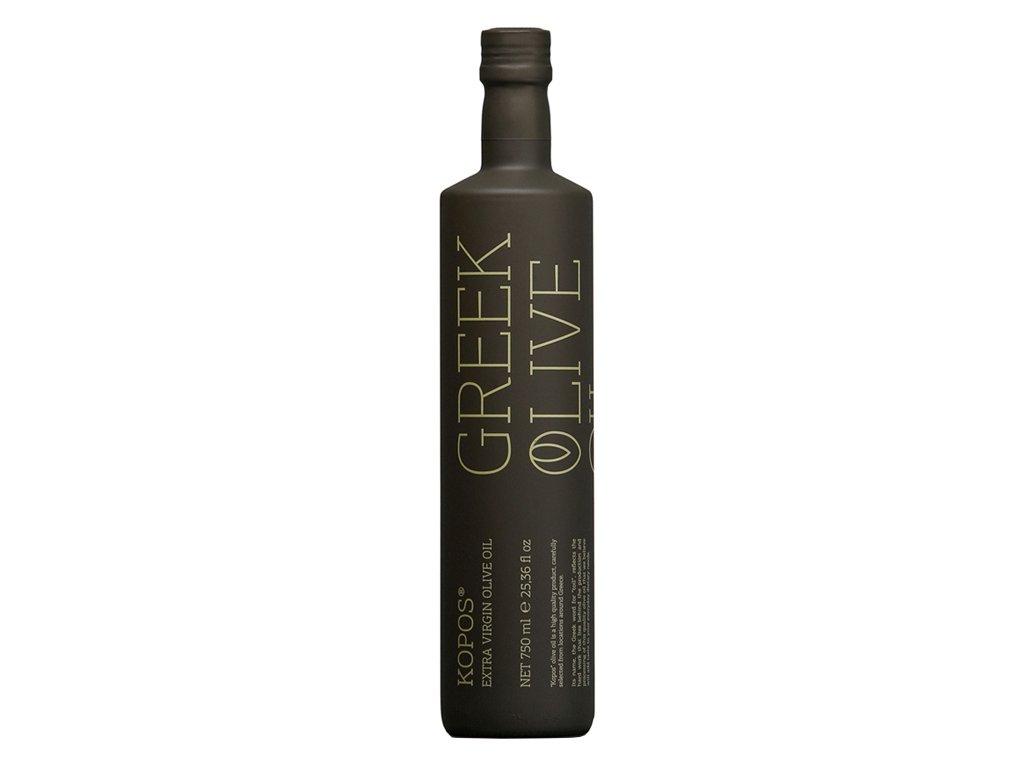 Kopos extra panensky olivovy olej 750ml ve skle GreekMarket