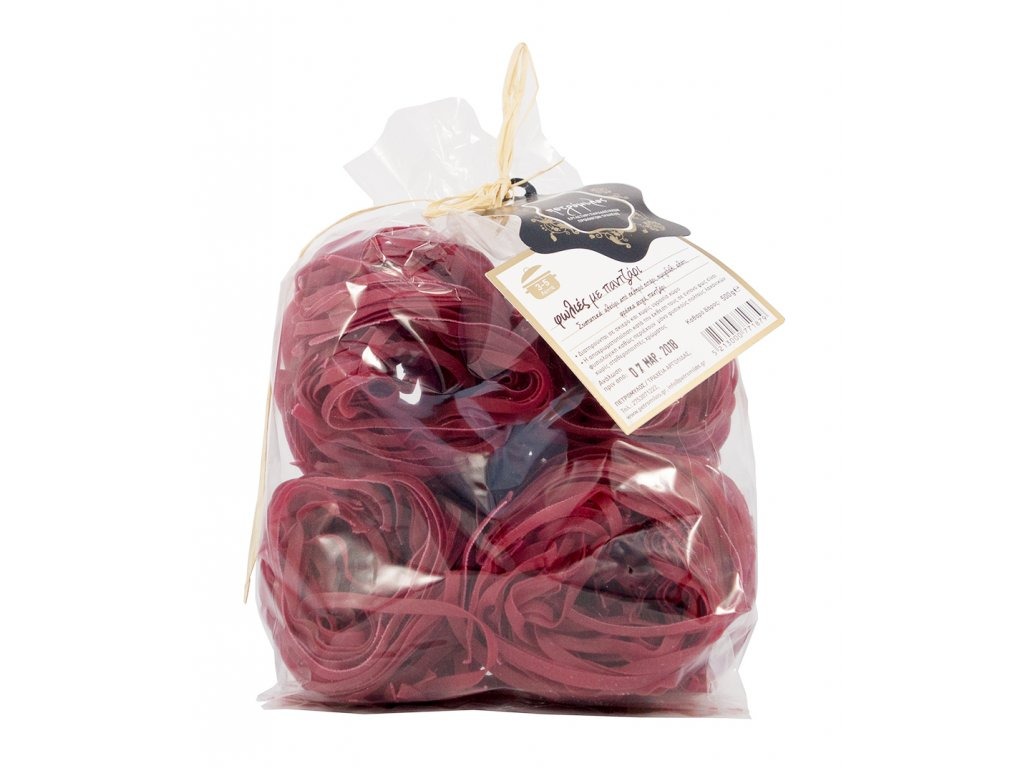 Tagliolini s červenou řepou 500gr Petromilos