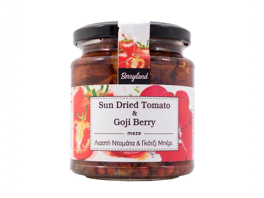 Sušená rajčata s goji 270gr Berryland