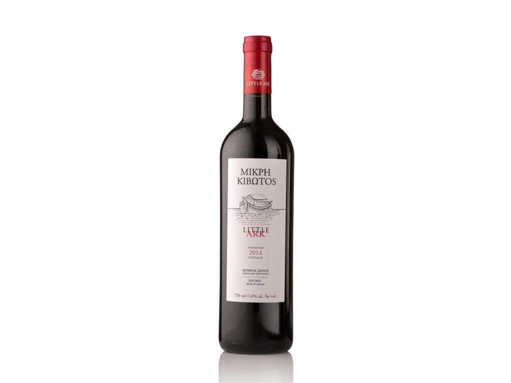 Červené suché víno LITTLE ARK 2017 LANTIDES 750 ml