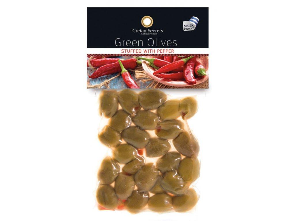 green olives piperi