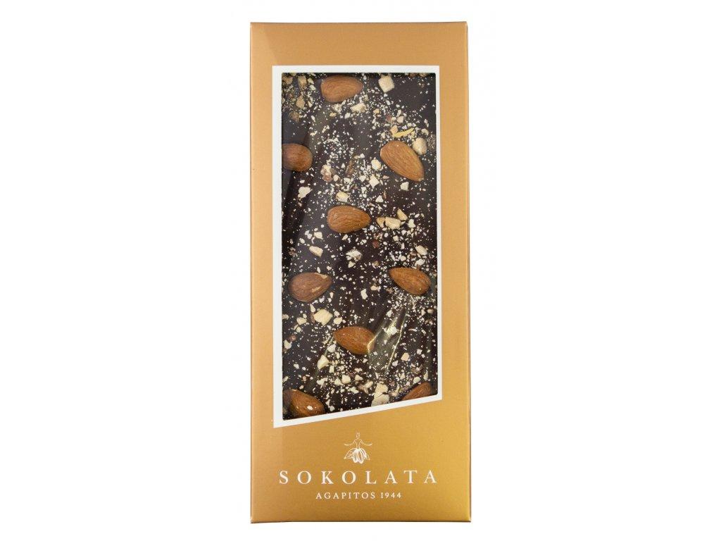 Agapitos horka cokolada s mandlemi Greek Market