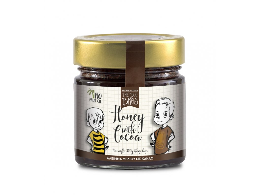 HONEY WITH COCOA